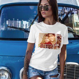 Ross + Rachel (Friends TV Show) Graphic T-Shirt